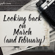 Looking back on March (and February) - Kelly Apple