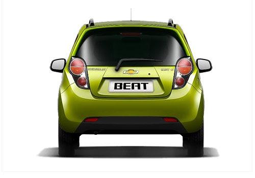 Chevrolet Beat Rear View