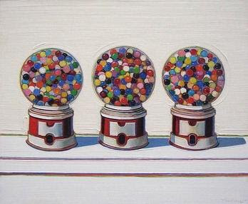 art by Wayne Thiebaud