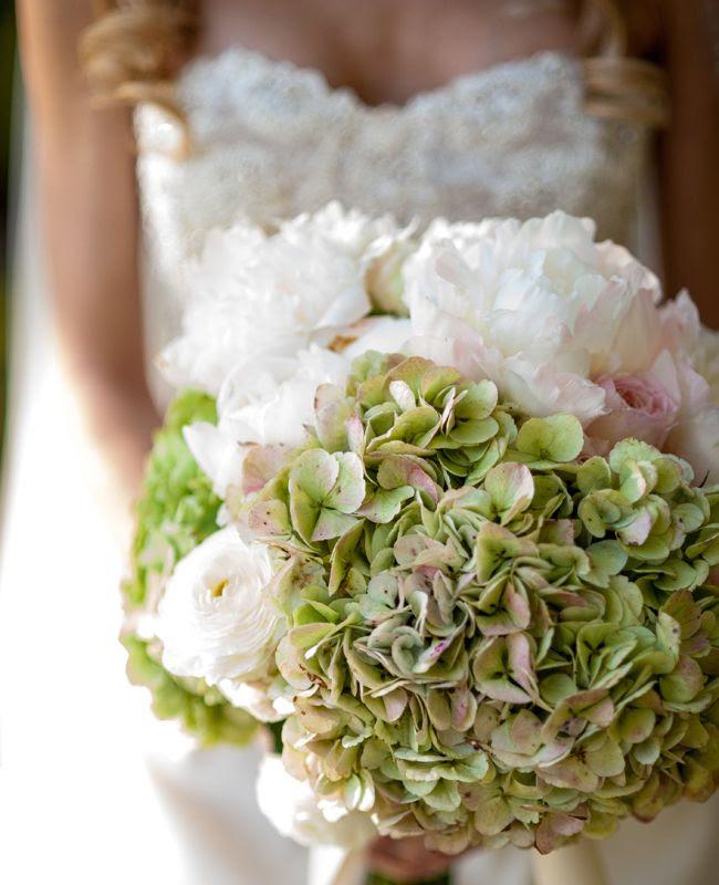 Delicious vintage Hydrangea bouquet