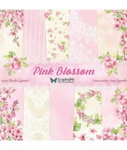Pink Blossom - zestaw papierów 30,5cm x 30,5cm