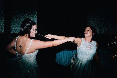 A spellbinding same sex Harry Potter inspired Wedding at