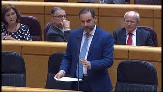 Ábalos, responent a la senadora d'ERC
