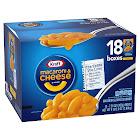 Kraft Macaroni & Cheese Dinner, 7.25 oz, 18-Count