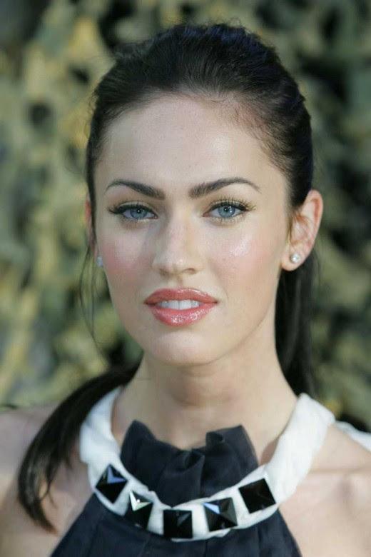 megan fox hair up. Megan Fox#39;s Curled Lashes