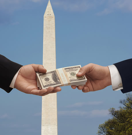 Reduce the flow of money to D.C. political campaigns