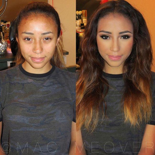 Maquillaje antes después resultados (11)