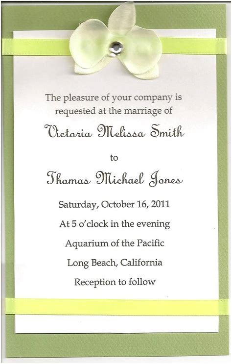Wedding Card Format In English   Free Photo and Wallpaper