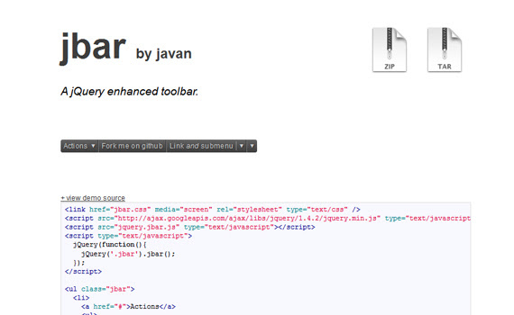 Jbar-new-cool-jquery-plugins-2011