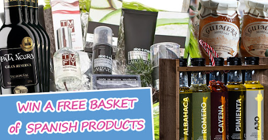 WIN A FREE BASKET of SPANISH PRODUCTS!