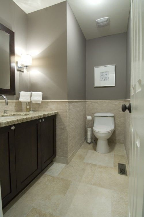 Bathroom color | Basement Ideas | Pinterest