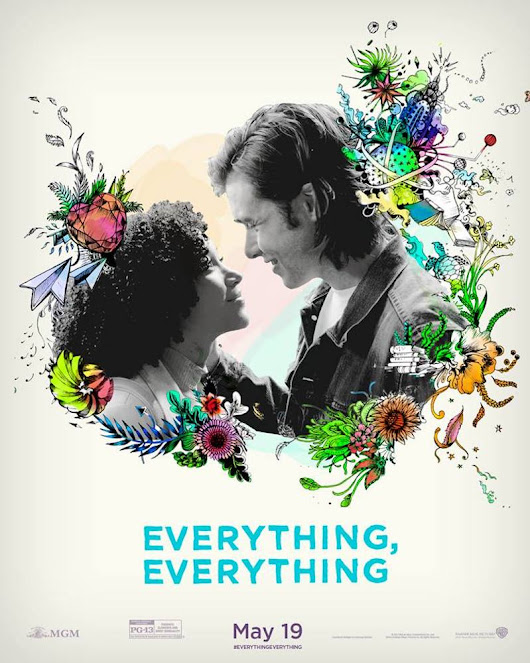 Everything, Everything Movie based on book by Nicola Yoon in Theaters May 19th (giveaway) - Lady and the Blog