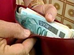 dinheiro carteira