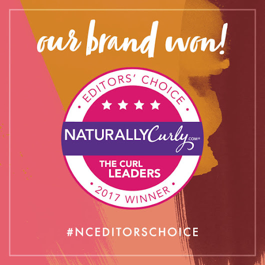 Controlled Chaos Curl Crème Wins NaturallyCurly.com Editors' Choice Award