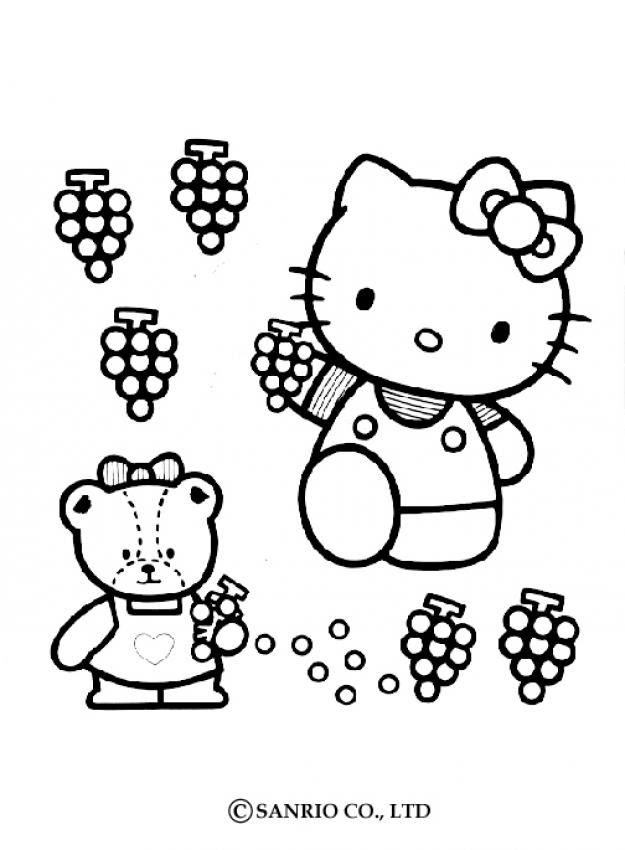 Coloriage Hello Kitty Hello Kitty