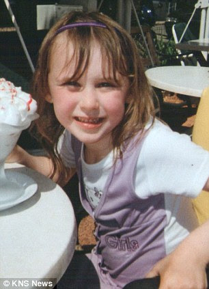 Lianne Smith's daughter Rebecca, the weekend before she was killed.
