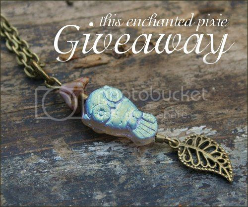 Jewelry Gift Card Giveaway to This Enchanted Pixie