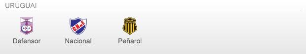 info Classificados e Vagas Libertadores 2013 - uruguai (Foto: arte esporte)