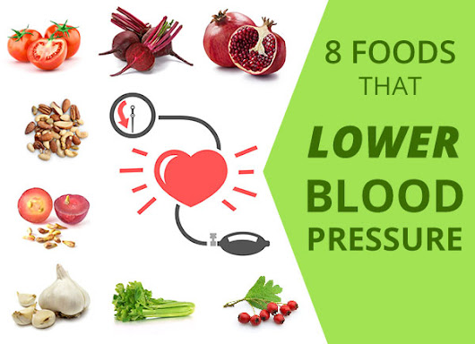 8 Foods Clinically Proven To Lower High Blood Pressure