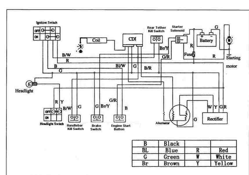 Taotao 110cc Atv Wiring Diagram 41054 Enotecaombrerosse It