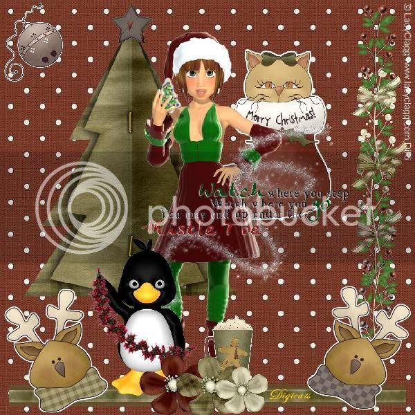 Elves,Penguins,Reindeer,Christmas,Happy Holidays