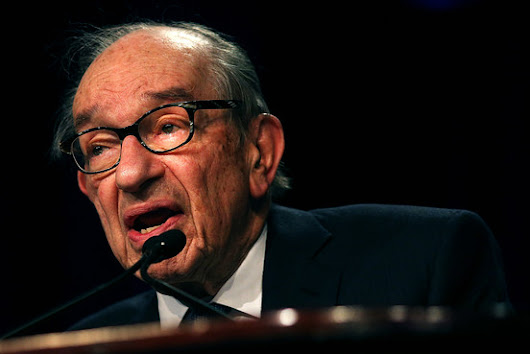 Former Fed Chief Greenspan Worried About Future of Monetary Policy