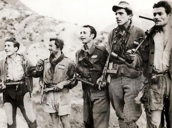 Partigiani in montagna