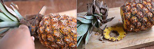 How to Cut up a Pineapple Anannasa DIY Recipes