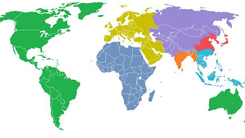 Each Color in this Image Represents 1 Billion People