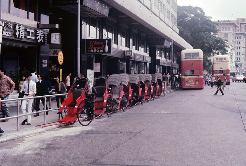 Tsim Sha Tsui in 1972