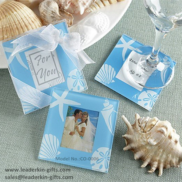 Personalized Glass Coasters Wedding Favors Make Your Own Coasters
