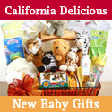 California Delicious-Newborn Gift Baskets