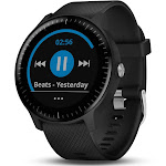 Garmin Vivoactive 3 Music Smart Watch with Heart Rate Monitor - Black/Silver