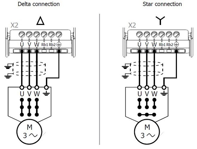 Inverter Drive Motor Connection - Home Wiring Diagram