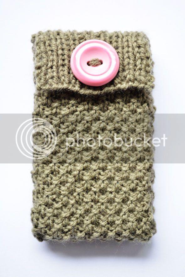 gebreid iPhone- smartphonehoesje