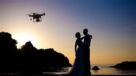 Camera in the Sky: Using Drones in Wedding Photography and