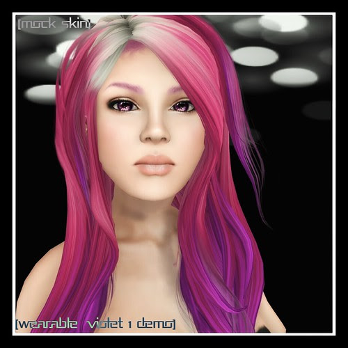 Wearable for the Violet Skin Tone 1 by Mocksoup