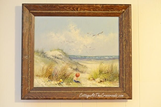 From My Front Porch To Yours-How I Found My Style Sundays-beach painting | Cottage at the Crossroads
