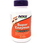 Super Enzymes By Now Foods - 90 Tablets