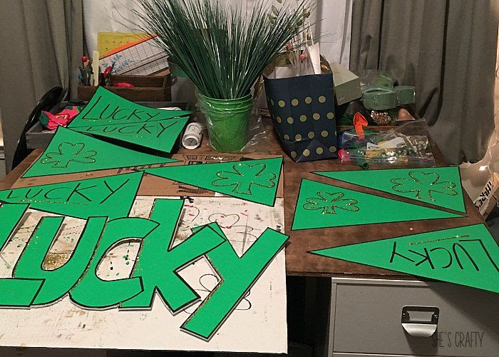 paper party decorations, st patrick's day party