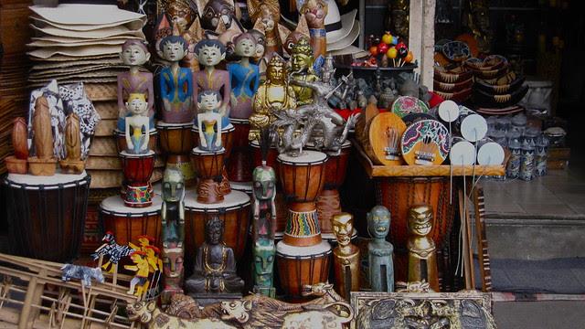 various trinkets for sale, Ubud