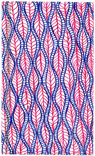 """Patio Table Pattern Zentangle"" ICAD : 6-17-13"