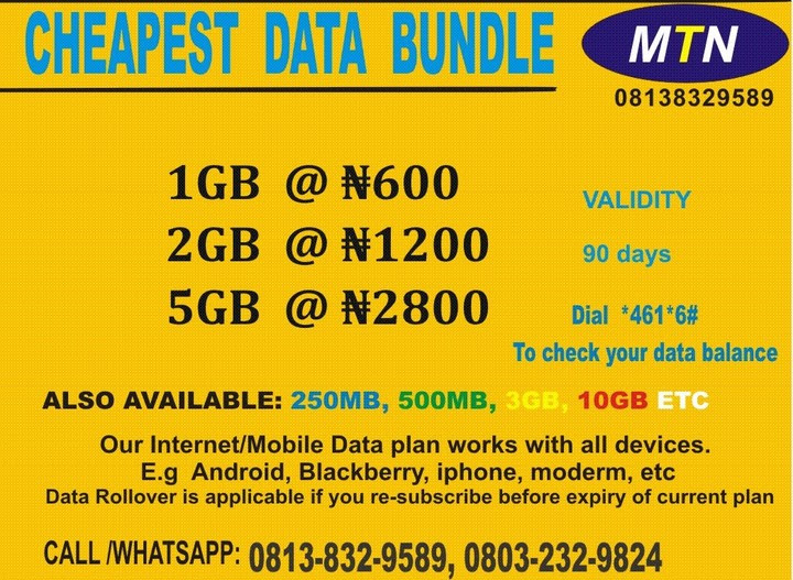 Do You Browse With MTN Line? Get The Cheapest Internet Data Plans Here