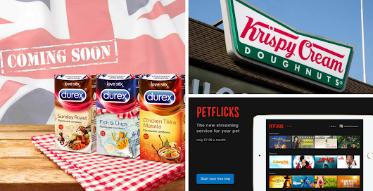 April Fool's Day round-up: Featuring Durex, Krispy Kreme, Coca-Cola, Argos and more