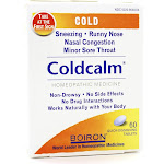 Boiron Coldcalm, Cold Relief, Quick-Dissolving Tablets - 60 tablets