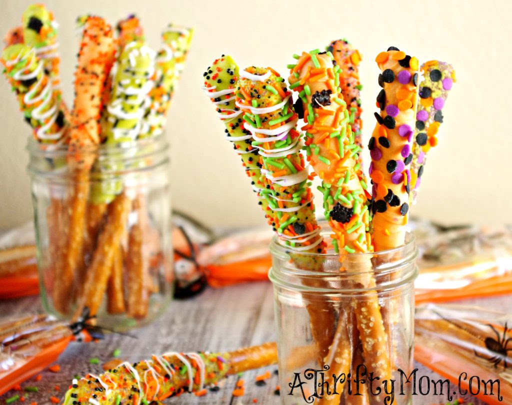Witch Hat Cookies~ Easy Halloween Treats