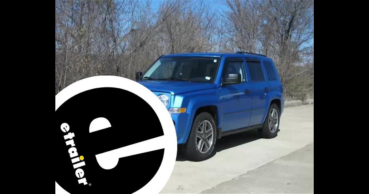 Jeep Patriot Trailer Wiring Harnes