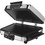 Black+Decker G48TD 3-in-1 Waffle Maker & Indoor Grill Griddle, Silver/Black