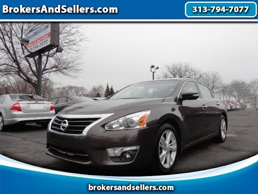 Used 2013 Nissan Altima for Sale in Detroit MI 48180 BrokersAndSellers.com