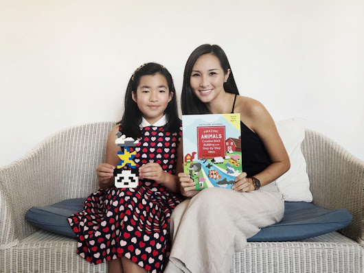 [GIVEAWAY] Brick Building Step-by-step book for your child by 9 year old, Sofia Chen - The Chill Mom